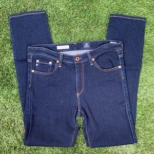 AG | Prima dark wash jeans mid rise skinny